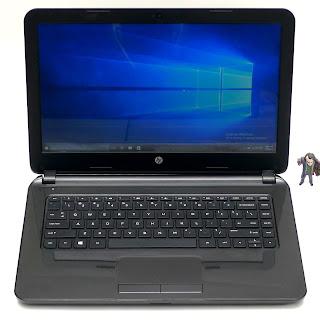 Laptop HP 14-d010AU AMD E1-2100 Bekas di Malang