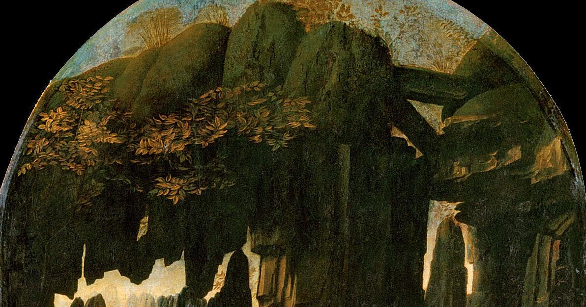 Da Vinci Xi >> MUNDO DE BABEL: Grandes Iconos Universales XI: La Virgen de las Rocas, Leonardo da Vinci, 1483-1486.