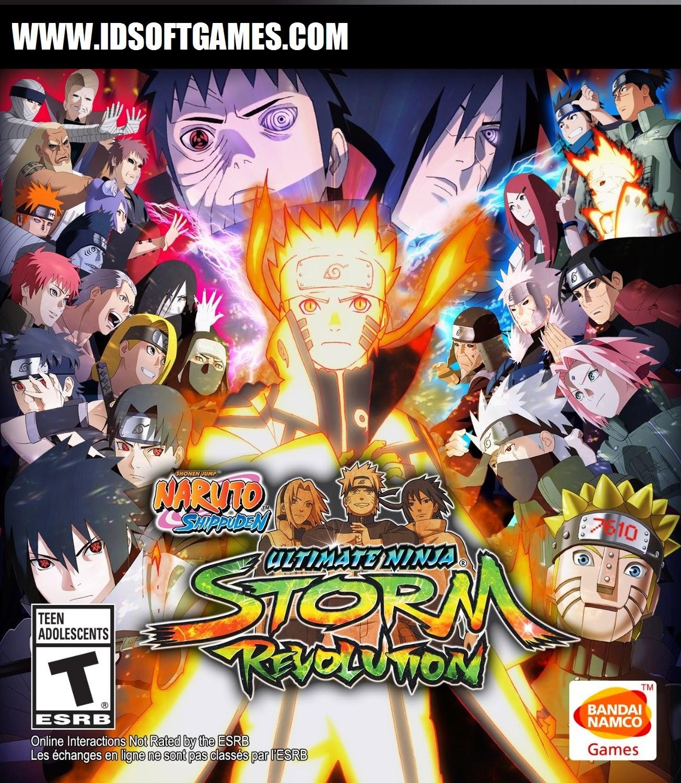 PC Cover Naruto Shippuden Ultimate Ninja Storm Revolution