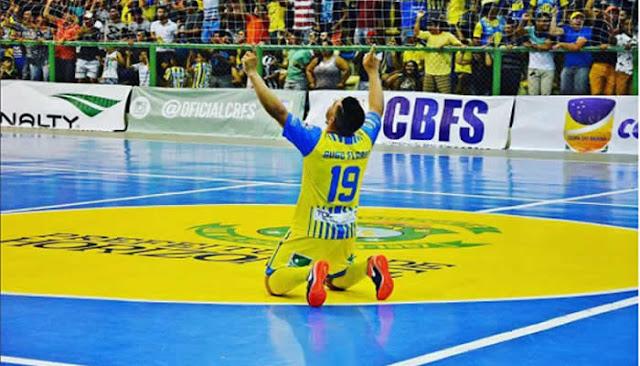 Horizonte atropela o Krac do Piauí na estreia da Copa do Nordeste de Futsal.