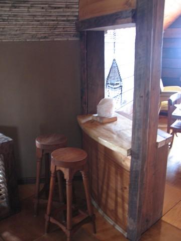Domos geod sico de madera con fardos de paja for Domo muebles
