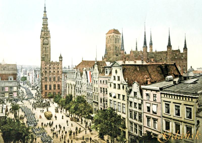 pocztówki z Gdańska