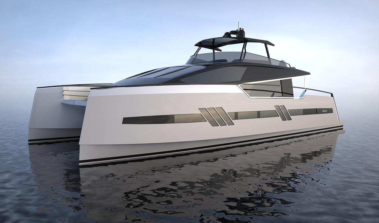 Luxury Catamaran: PRIVILEGE MARINE FINALLY LIFTS THE VEIL  Luxury Catamara...