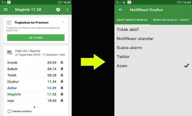 Cara Membuat Suara Adzan di HP Android Ketika Waktu Shalat Tiba