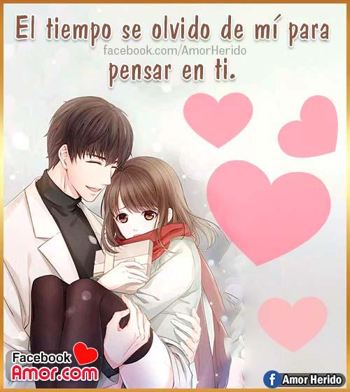foto anime amor