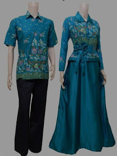 Model baju batik couple untuk acara formal