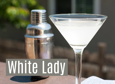 White Lady is the perfect blend of gin, cointraeu and lemon juice.