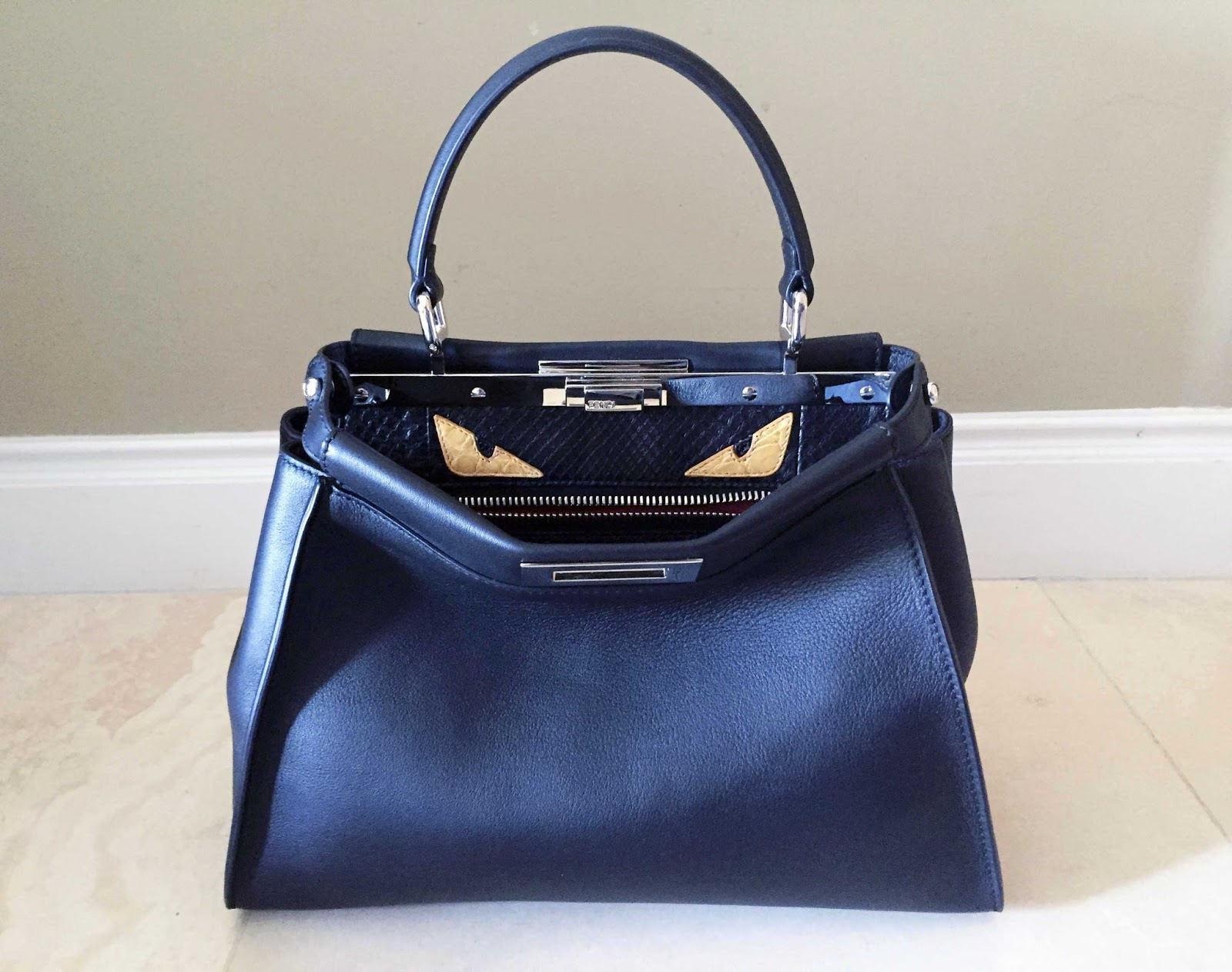My Superficial Endeavors  Fendi Peekaboo Monster Bag!!! 5cae5137240c8