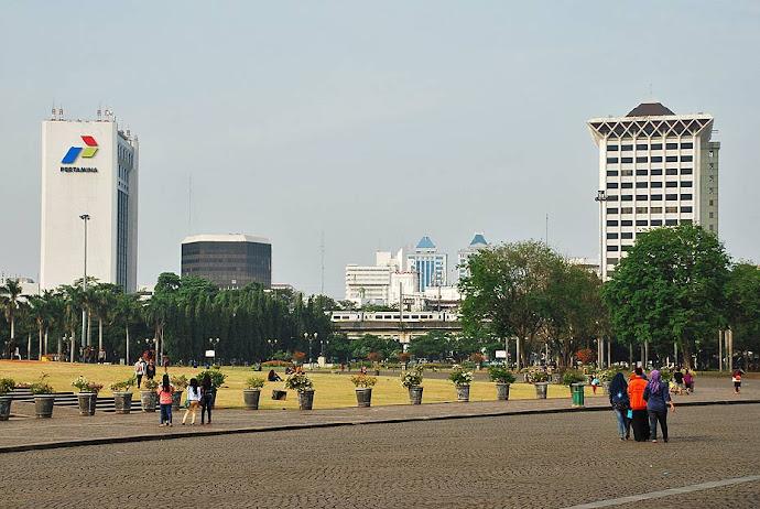 Esquina de la plaza Merdeka