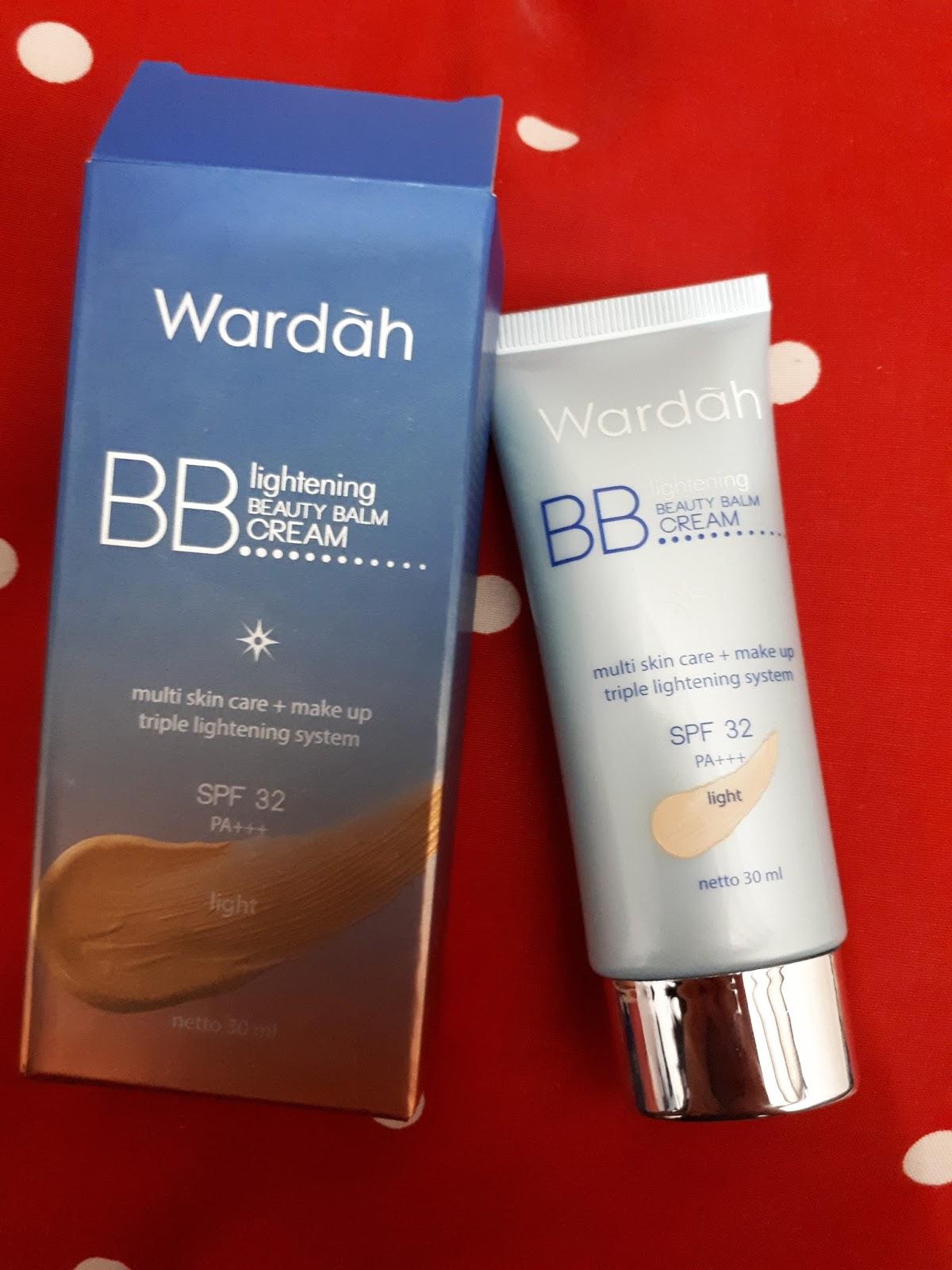 My Journey Review Wardah Bb Cream Jadi Untuk Ini Ada Dua Warna Yaitu Natural Dan Light Aku Kali Beli Yg Nya