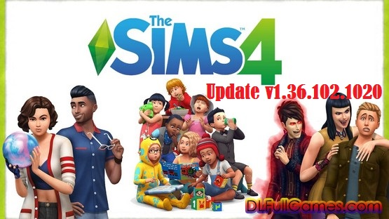 The Sims 4 Update v1.36.102.1020