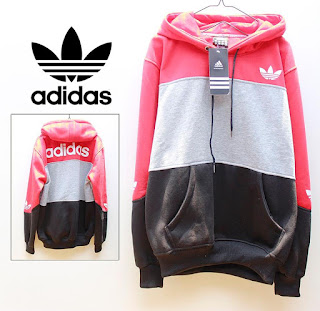 Jaket & Sweater Fleece Hoodie Adidas ADS010