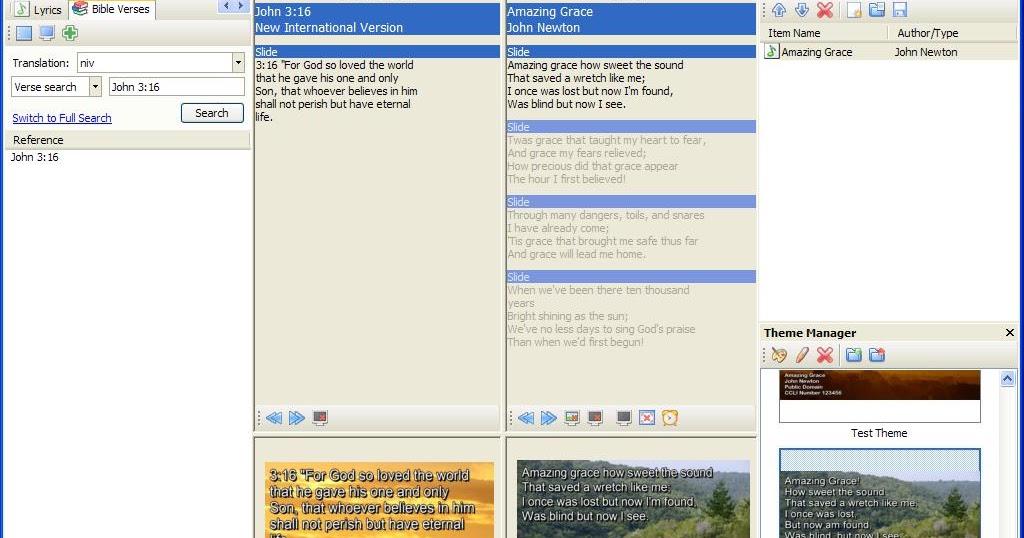 OPENLP, Software Presentasi Gereja | Welcome To GSJA Betlehem Bogor