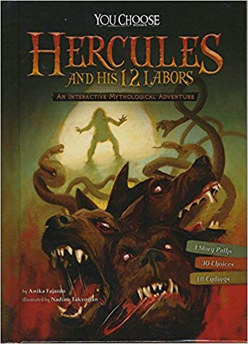 Greek Mythologys Twelve Labors of Hercules: A Choose Your Path Book (Can You Survive?)