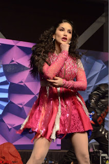 Sunny Leone Dancing on stage At Rogue Movie Audio Music Launch ~  041.JPG