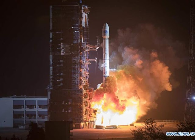 Chinese Data Relay and tracking Data satellite now on Space