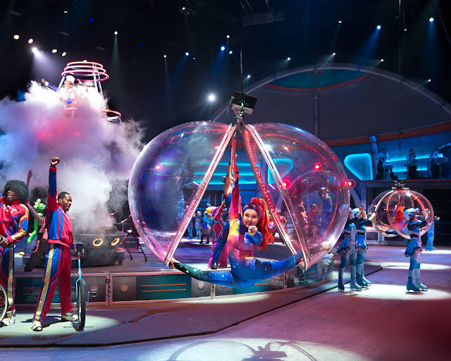 Ringling Bros. and Barnum & Bailey present #OutOfThisWorld Acrobats