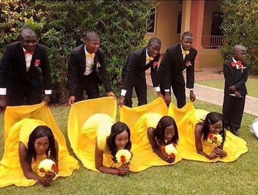 Funny african pictures taken at weddings