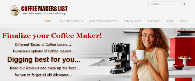 Find the Best Coffee Maker for you