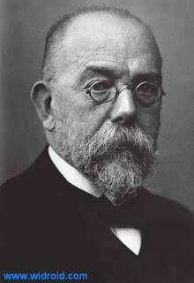 Fig.3 : Robert (widroid archive) Koch