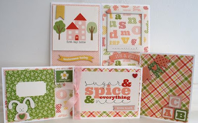 http://www.scrappingreatdeals.com/-Baby-Girl-Card-making-Kit-by-Diva-Kim.html