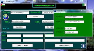 PcSolution: DzFixImeiQcn Fix Imei Qcn tool (XQCN) (QCN