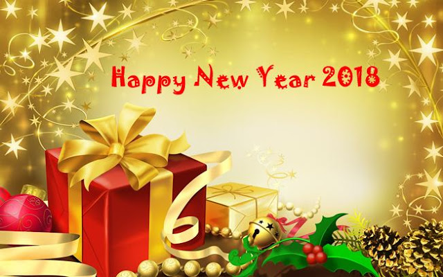 Happy New Year 2018 Gift Ideas