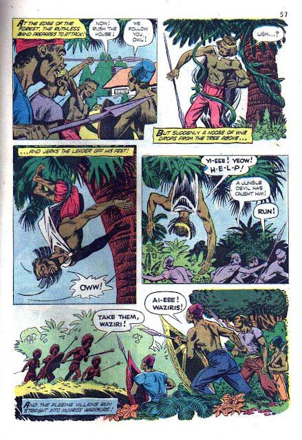 Tarzan's Jungle Annual v1 #3 - Russ Manning dell silver age comic book page art
