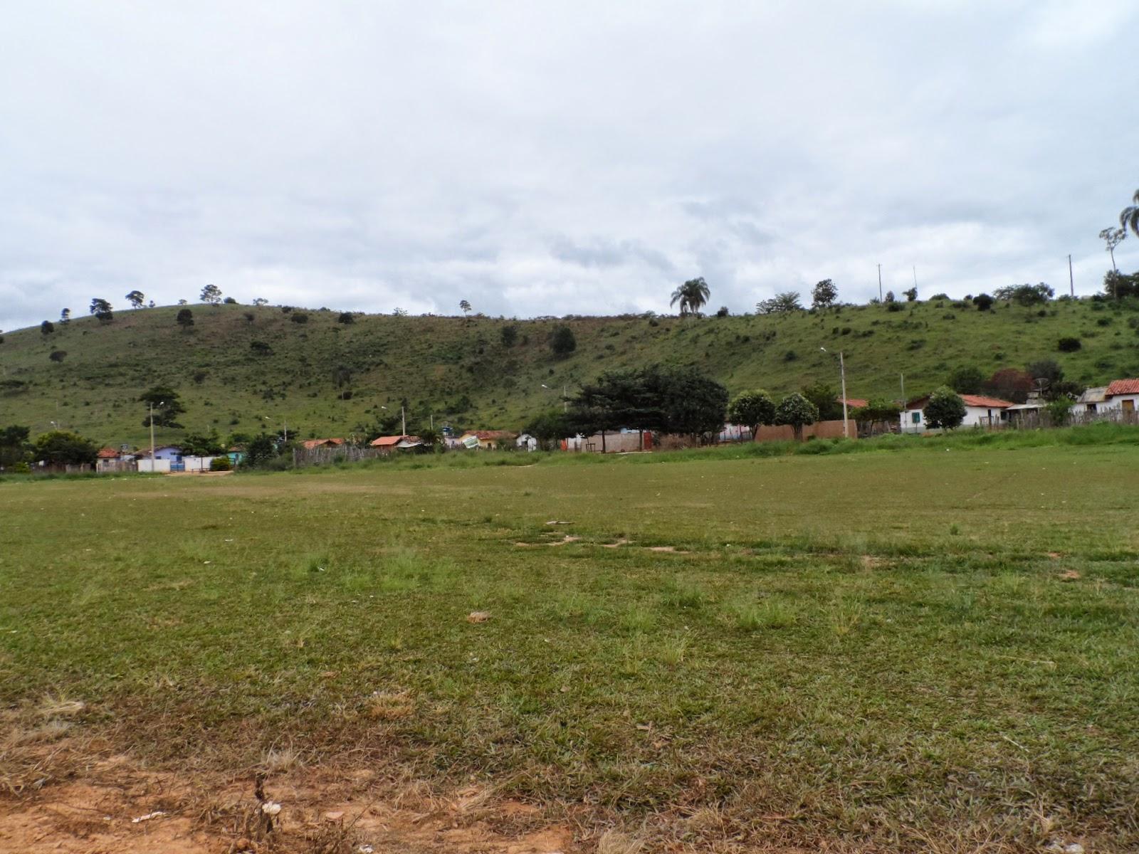 Campo de futebol em Santo Antônio do Mucuri