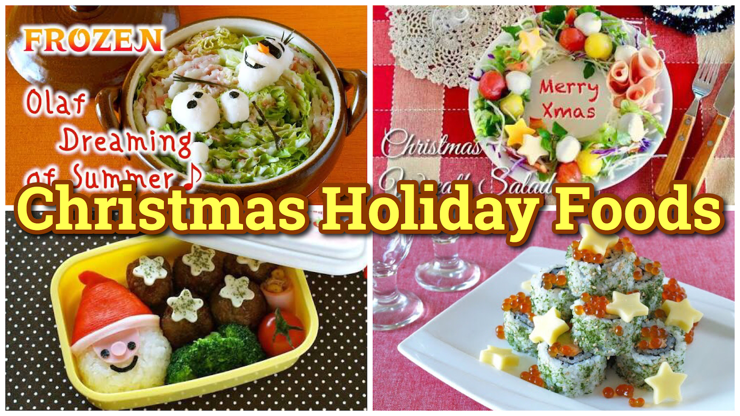 Top 15 Christmas Holiday Foods Easy Photogenic Recipes