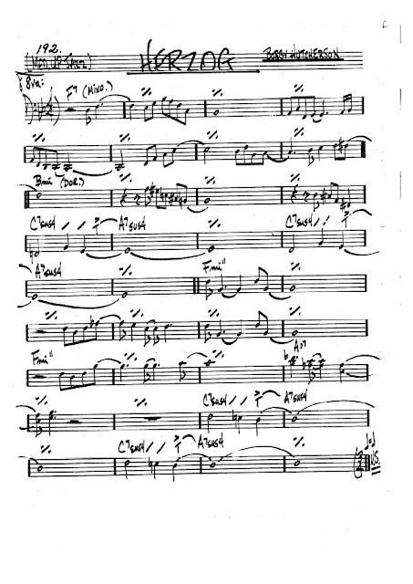 Partitura Trombón Bobby Hutcherson
