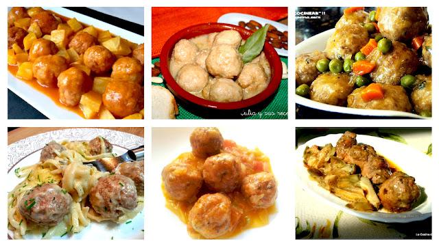 6 recetas de albóndigas caseras