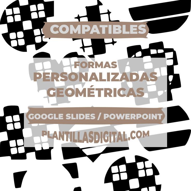 formas personalizadas geometricas