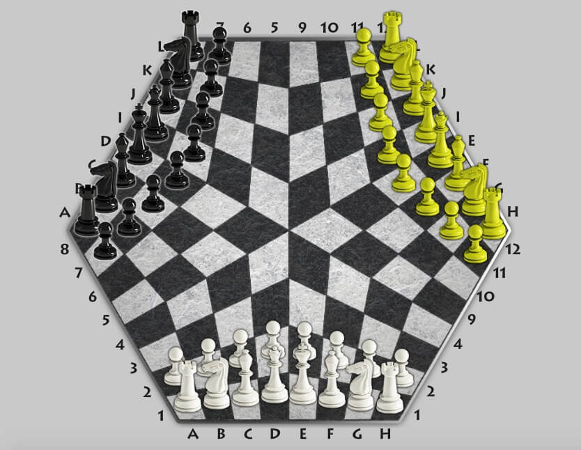 Three Player Chess Is As Hard As You Would Expect