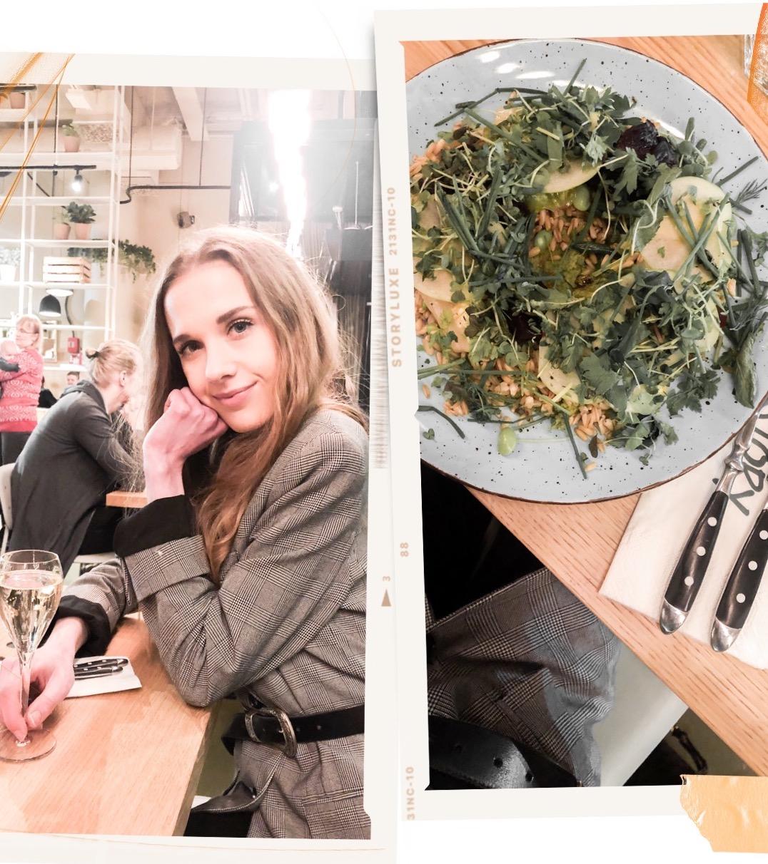 Vegan dinner at restaurant Story, Tripla Helsinki - Vegaaninen illallinen, ravintola Story, kauppakeskus Tripla