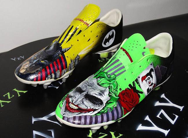 Corrupto diseño George Hanbury  Batman y Joker, en unas botas personalizadas de Nike – La Jugada Financiera