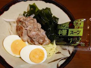 五木食品のおいしい冷し中華・レモン風味スープ
