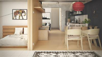 Inspirasi Desain Interior Yang Baik Untuk Apartemen Studio