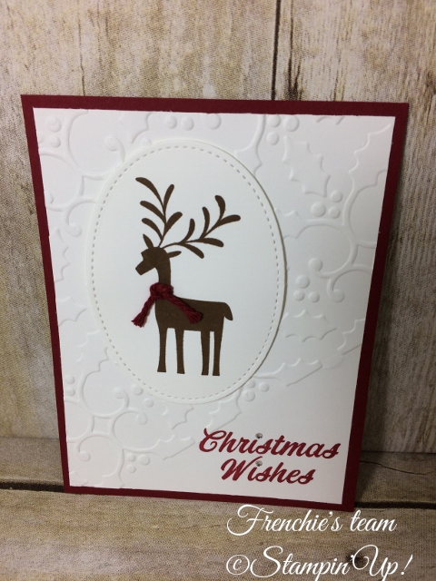 Merry Mistletoe, Stampin'Up!