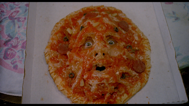 If i ever saw a face in my pizza I would bash the hell out of it.
