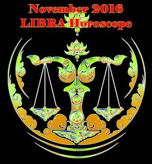November 2016 LIBRA Best Days for Money & Love