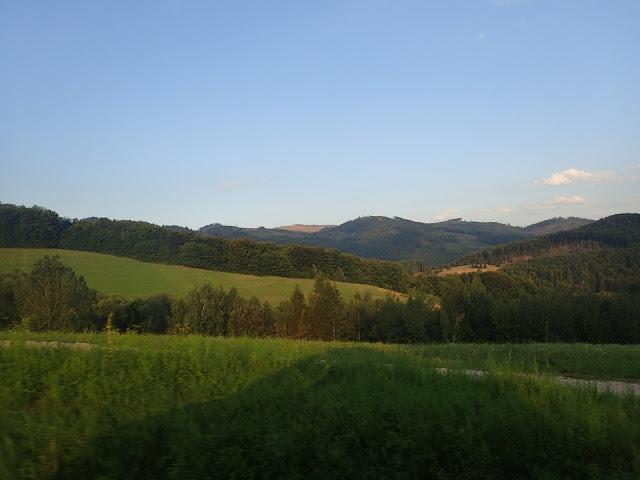 Trasa przez Słowację