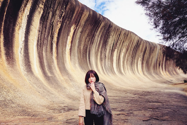 Australia Perth wave rock