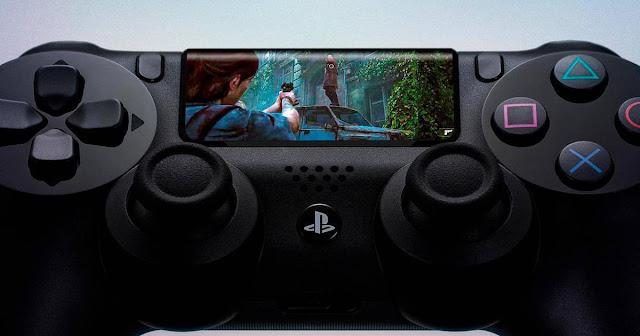 Sony patentó un nuevo mando con pantalla táctil
