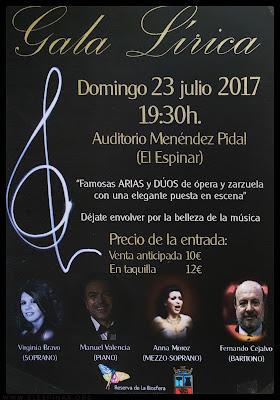 Recital de Zarzuela A.C. Clave de Lírica.