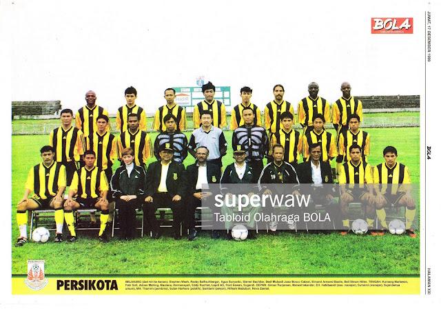 SKUAD TIM PERSIKOTA 1999