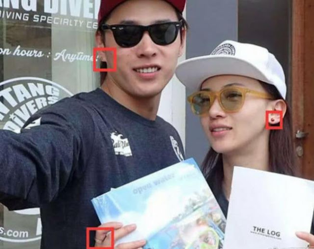 Wu Jinyan dating rumors Hong Yao