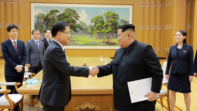 Corea del Norte promete no usar armas nucleares contra Corea del Sur