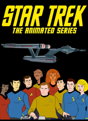 star trek serial animowany 1973 shatner nimoy