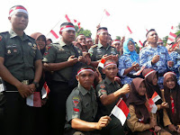 Yonarmed 1 Kostrad, Meriahkan Pameran Alutsista Pada  Acara Apel Nusantara Bersatu